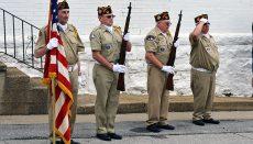 Flag Raising Ceremony by Trenton VFW