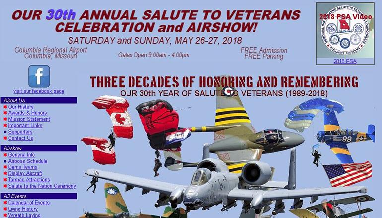 Veterans Air Show 2018