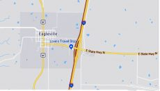 Interstate 35 at Eagleville, Missouri