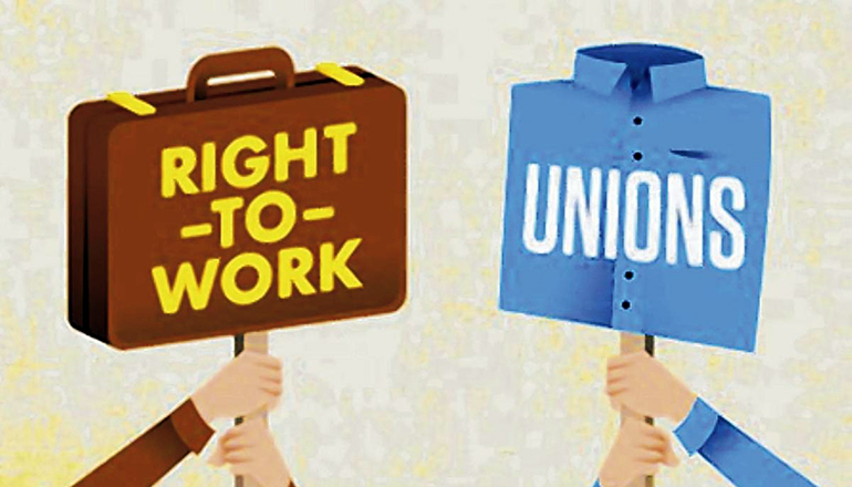 Right To Work Unions Versus Workers
