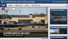 Whiteman Air Force Base Website