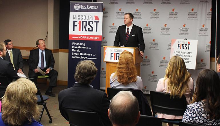 Eric Schmidt Missouri FIRST Initiative