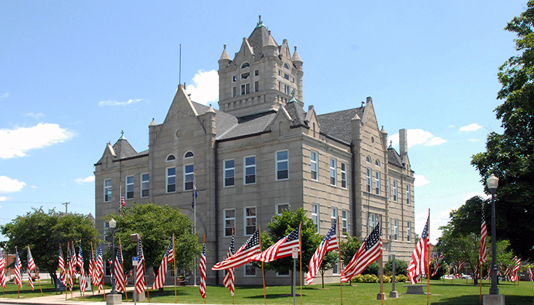 Grundy County Courthouse Trenton Missouri