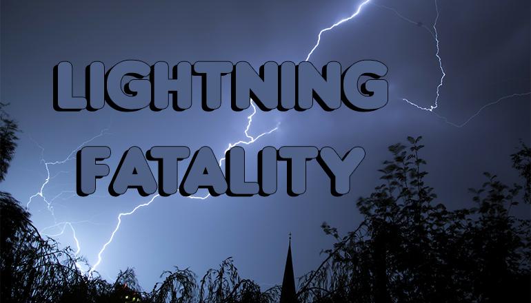 Lightning Fatality