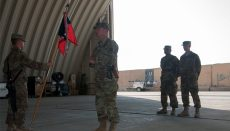 Aviation Unit Receives Combat Patch