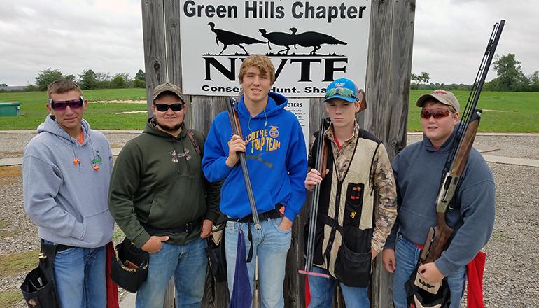 Chillicothe Trap Team September 2018