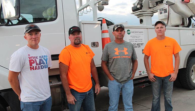 Grundy Electric Sends Lineman to South Carolina