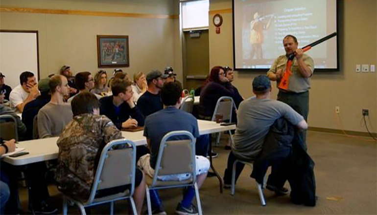 Hunter Education Skills Class