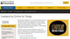 Leadership Online Today Website