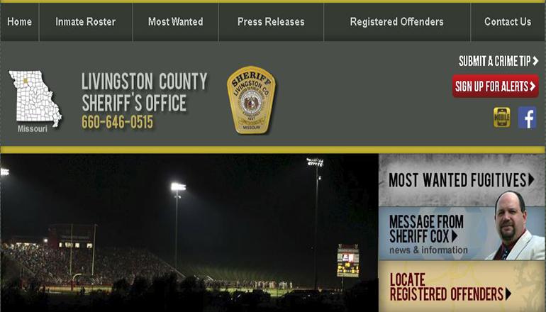 Livingston County Sheriff Website