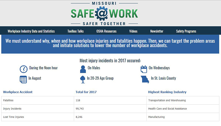 Missouri Safety Website