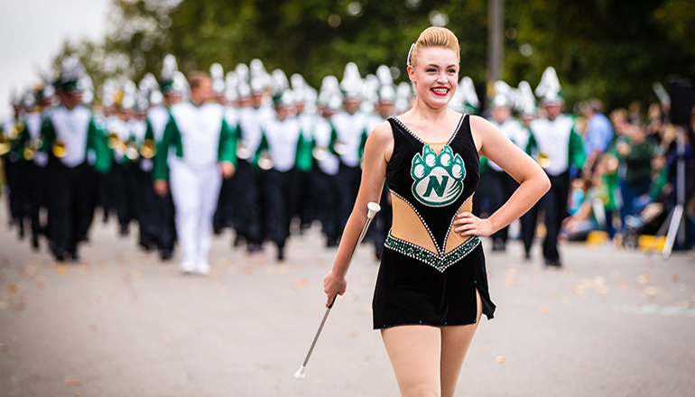 Northwest Missouri State University Homecoming Parade
