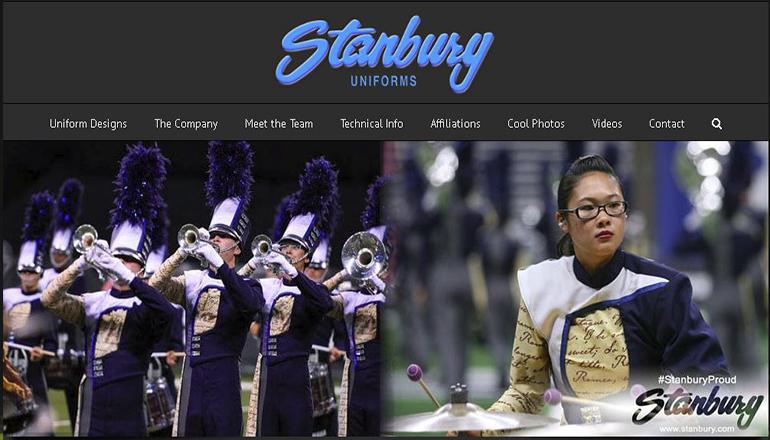 Stanbury Uniforms Website