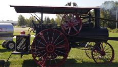 Steam and Gas Association's Old-Time Harvest Days tractor