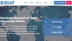 Survivors Network for Those Abused by Priests website