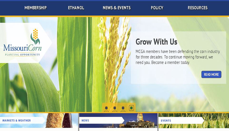Missouri Corn Website