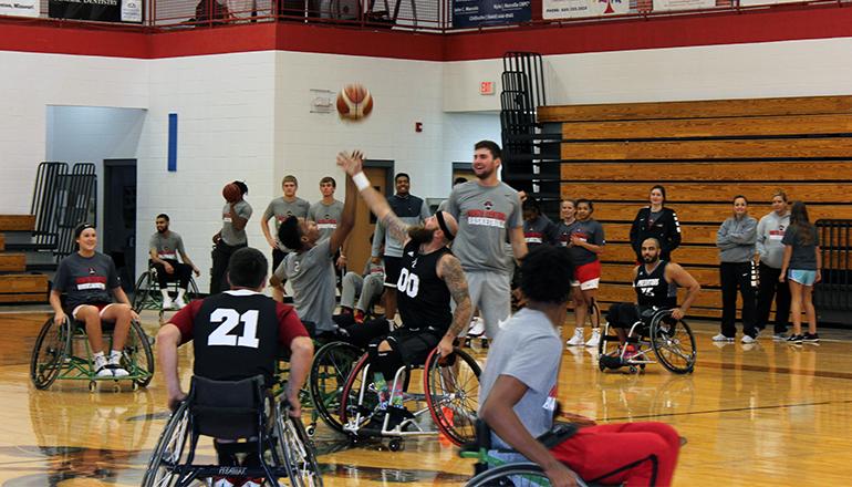 NCMC Wheelchair Basketball