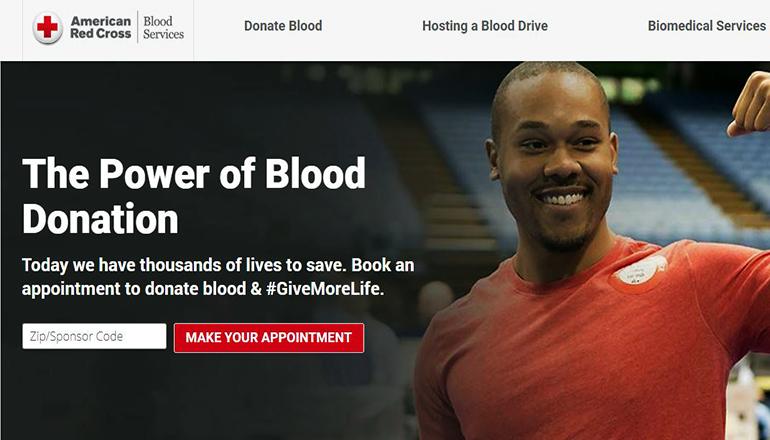 Red Cross Website