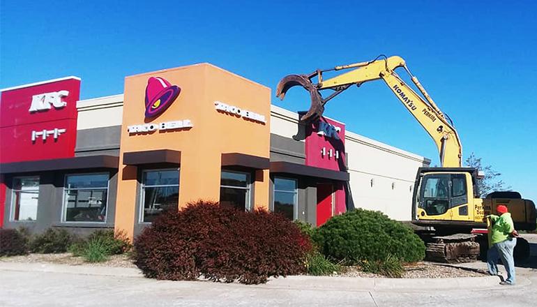 Taco Bell-KFC Building