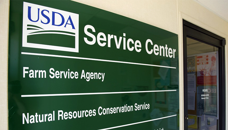 USDA Sign