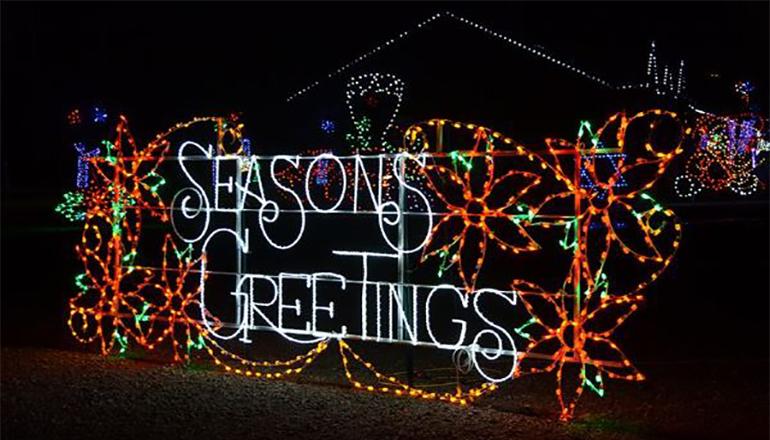 Seasons Greetings Christmas Lights