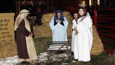 Wright Memorial Living Nativity