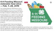 4-H Feeding Missouri
