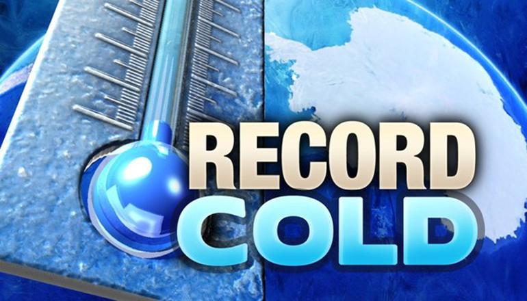Record Cold Graphic
