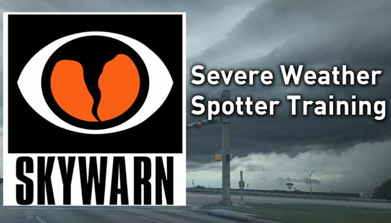 Storm Spotter Training