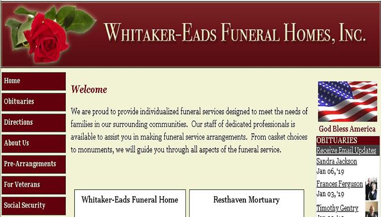 Whiteaker Eads Website
