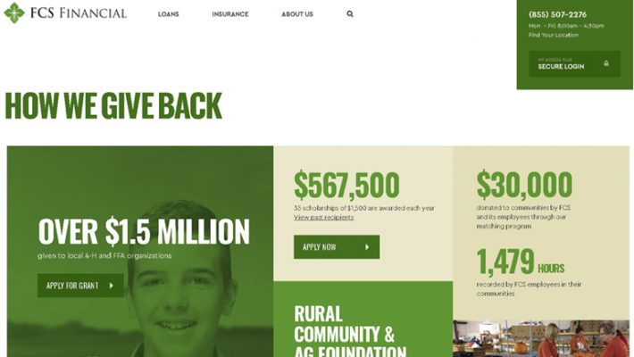 FCS Financial Community Giving