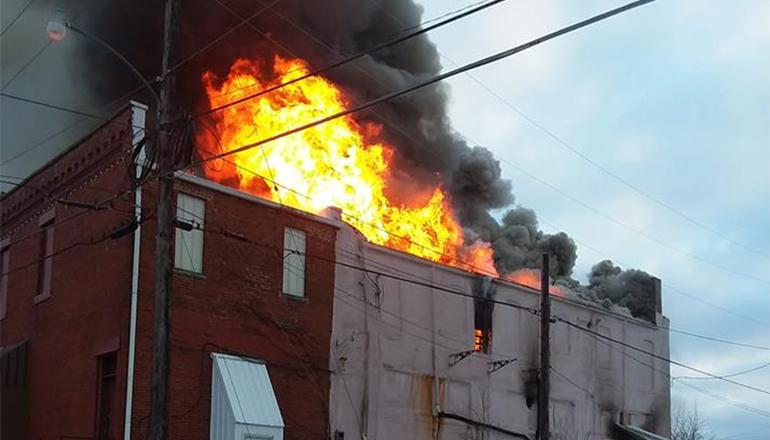 Fire story header