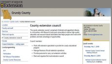 Grundy County Extension Council