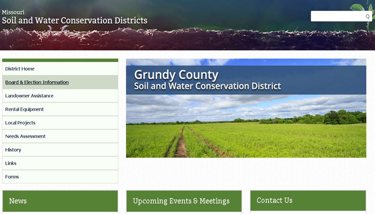 Grundy County Soil and Water Conservation District