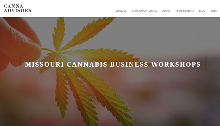 Missouri Cannabis Workshop Website