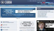 Missouri Department of Labor Website