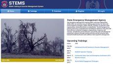 SEMA State Emergency Management Agency Website