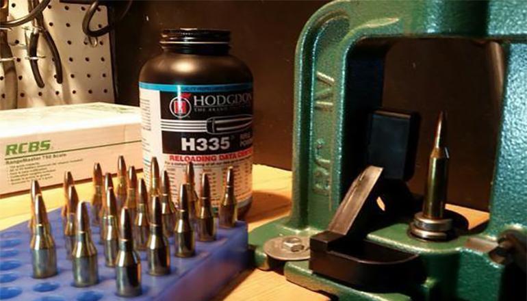 Ammunition (bullet) reloading