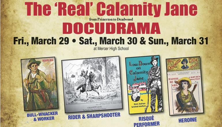 Calamity Jane Docudrama website