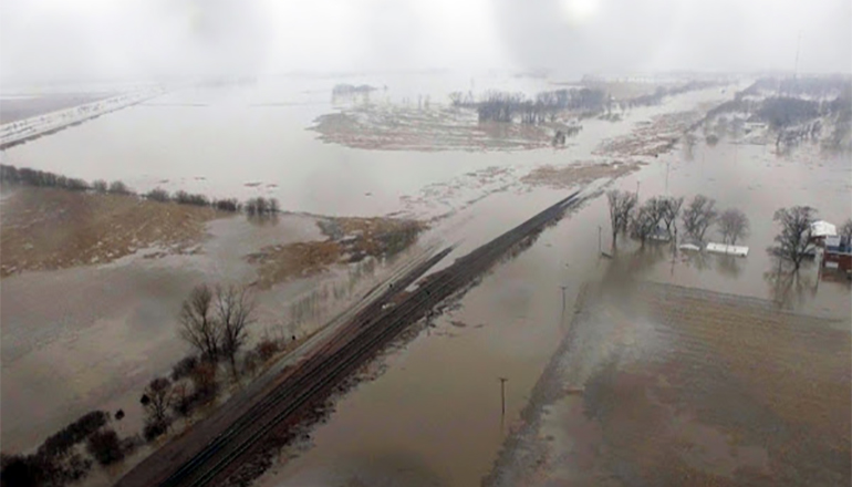 Flooding in northwest Missouri