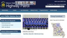 Missouri Highway Patrol Website