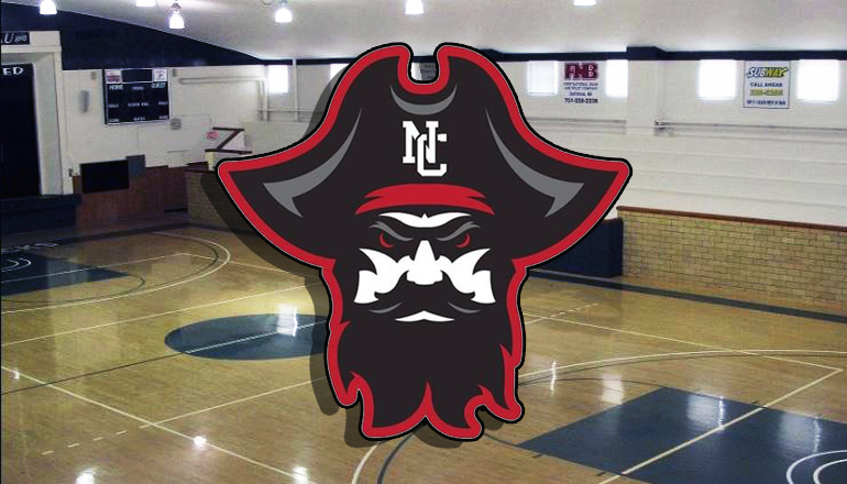 NCMC Basketball Court with Logo