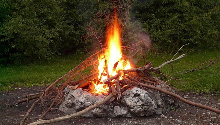 Open Burn Pile