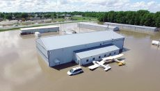 Flooded Trenton Airport May 29 2019