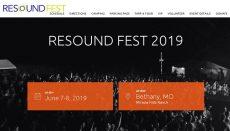 Resoundfest website 2019