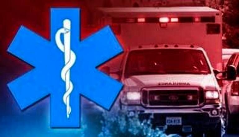 Ambulance with Medic Symbol (accident)