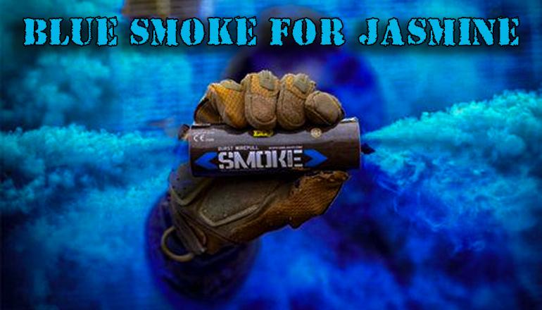 Blue Smoke for Jasmine