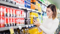 Woman in Grocery Store or Supermarket