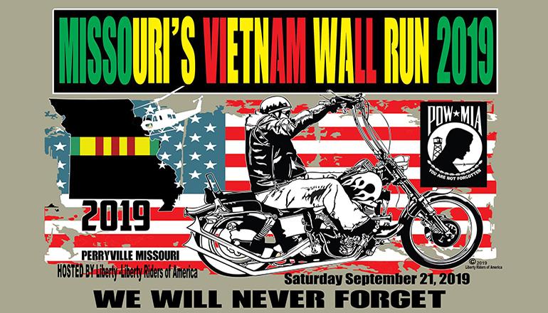 Missouri Vietnam Wall Run 2019