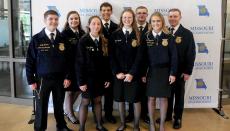 Trenton FFA Members attend Missouri FFA Public Speaking Academy